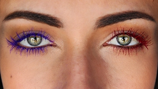 Create Your Own DIY Colored Mascara Fom Any Eyeshadow | MakeupAndArtFreak