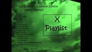 Baixar Ed Sheeran - X Album Deluxe Edition (Playlist)