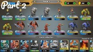Castle Crush Карточные игры онлайн  - Gameplay Walkthrough Part 2 (iOS, Android)
