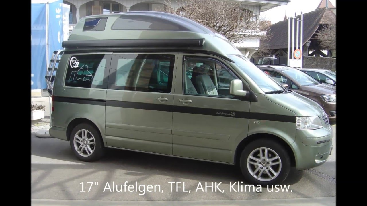 verkaufsfilm f r vw t5 1 california polyroof youtube. Black Bedroom Furniture Sets. Home Design Ideas