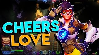 Heroes of the Storm (HotS) | MVP MATERIAL | TRACER Gameplay ft. Sinvicta