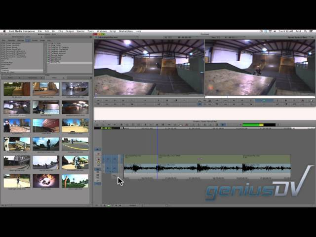 Avid Media Composer Speed Ramp Effect
