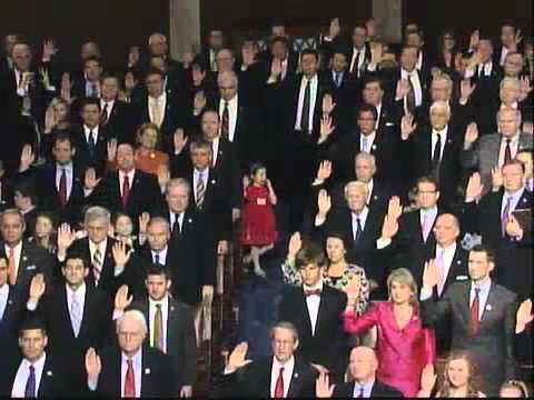 113th Congress Swearing In