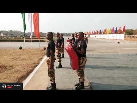 Ssc constable GD basic training cisf  ll KRAV MAGA ll