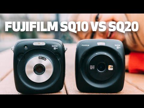 Fujifilm Instax SQ10 vs. SQ20 Instant Camera   Worth The Upgrade?