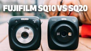 Fujifilm Instax SQ10 vs. SQ20 Instant Camera | Worth The Upgrade?