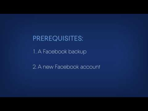 How to recover an entire Facebook account with Acronis True Image