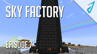 Sky Factory 2.5: MASSIVE TINKERS TOWER! (Episode 7)