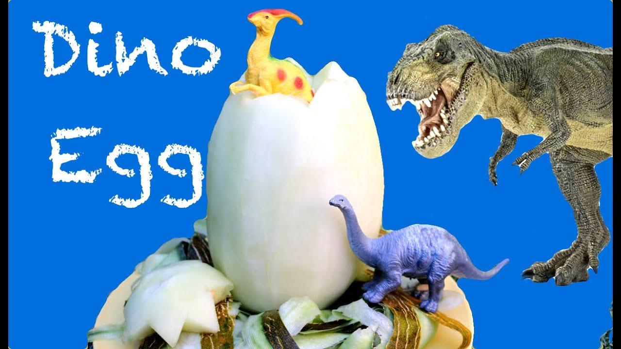 Cómo hacer un huevo de dinosaurio. Dino Egg - YouTube