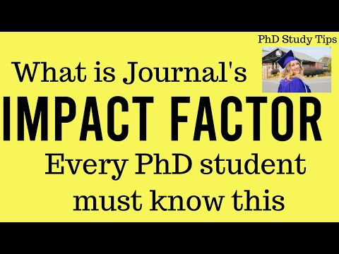 Meaning Of Impact Factor Of Journal Publications.