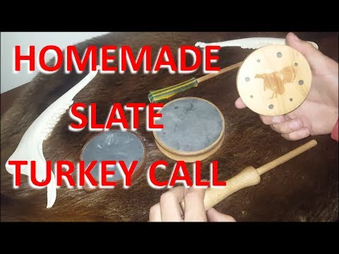 Slate Turkey Call Homemade From Scratch