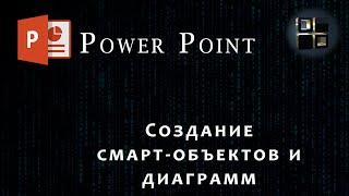 Power Point Создание смарт-объектов и диаграмм