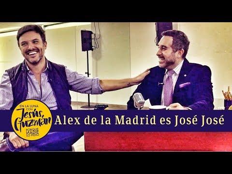 Alex de la Madrid y su transformación en José José
