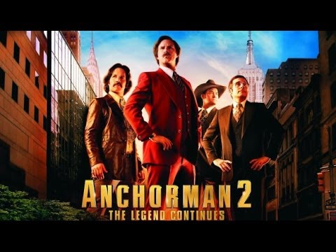 Anchorman 2 The Legend Continues 2013 Movie Review By Jwu Youtube