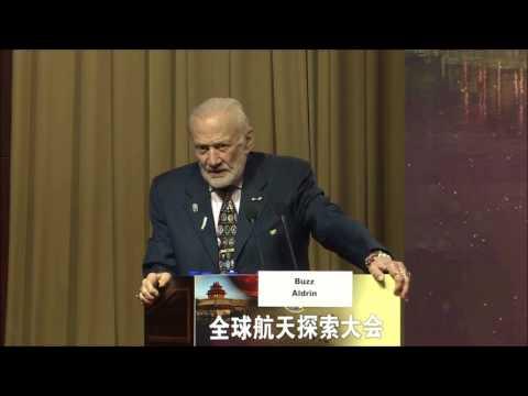GLEX 2017 - Buzz Aldrin: Cycling Pathways to Mars