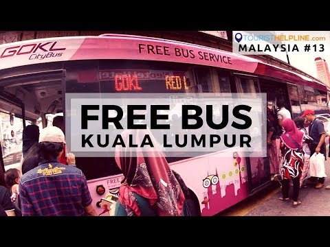TOURIST SCAM KUALA LUMPUR !! / GO KL: FREE BUS Timetable, Route Map