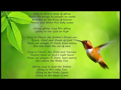 Sing To God A Song Of Glory (with lyrics)