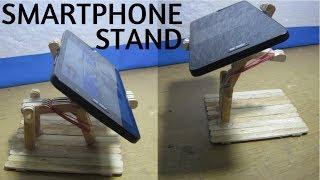 Membuat Penyangga Smartphone Dari Stik Es Krim Dudukan Handphone HP
