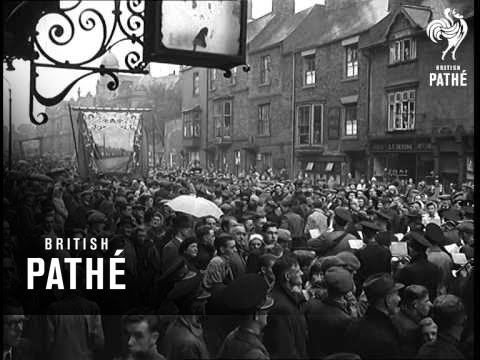 Drive For Coal - Government Chiefs Visit Durham Miners (1947)