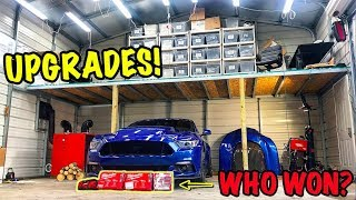 Upgrading The Goonzquad Garage!