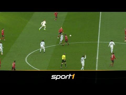 No-Look-Show! Ronaldinho zaubert bei Legendenspiel | SPORT1