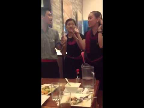 Max's restaurant happy birthday song