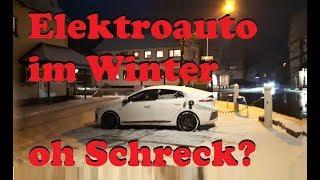 Hyundai IONIQ electric - Elektroauto im Winter? Oh Schreck?