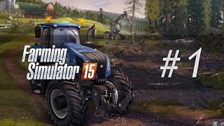 Lets Play Farming Simulator 15 ► Ep. 1 ► Farmer Grizzly (Xbox One Gameplay)
