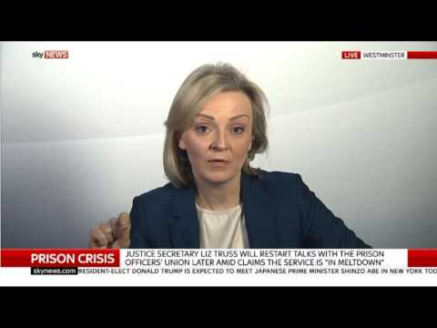Whiplash Claims, Prison Crisis, Brexit Negotiations this topics with justice secretary 17.11.2016
