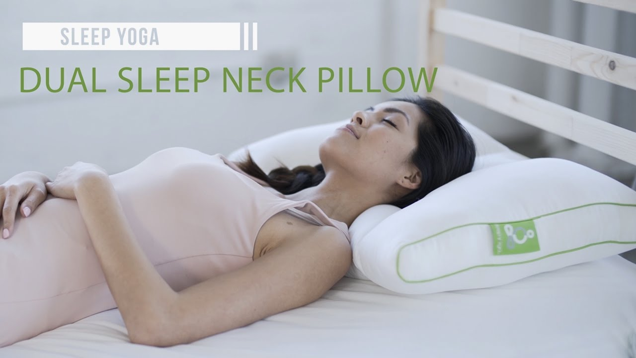 best neck support pillow sleep yoga