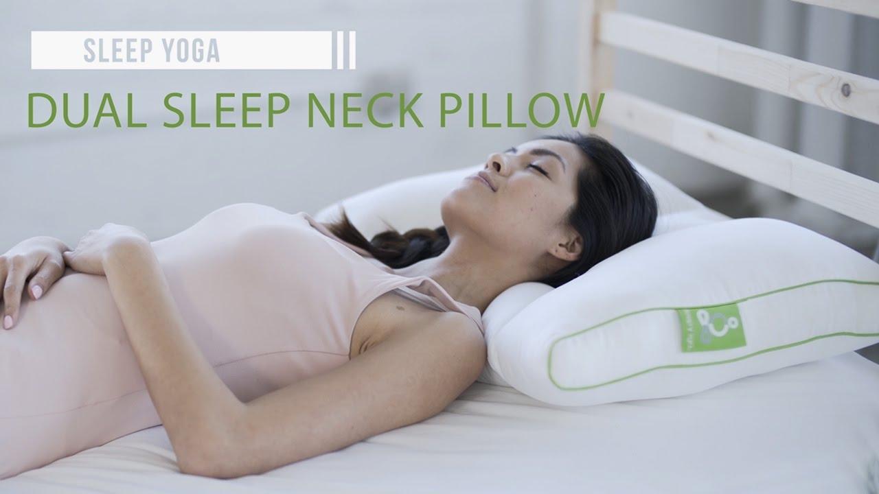 best neck support pillow sleep yoga