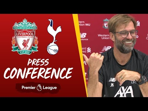 Jürgen Klopp's pre-match press conference | Tottenham