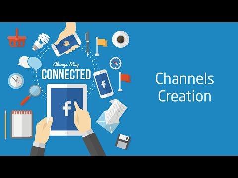 إنشاء صفحات وحسابات مواقع التواصل الاجتماعي | Social Media Channels Creation