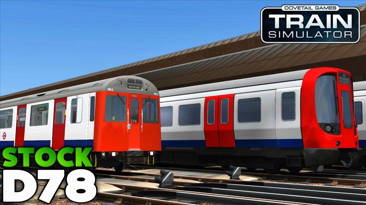 Train Simulator 2018 - D78 Stock: Gloucester Road to Ealing Broadway (Last  D Stock Scenario)