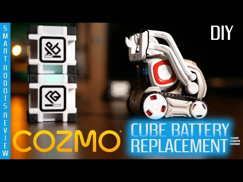 Cozmo Cube Battery Replacement - DIY - Smart Robots Review