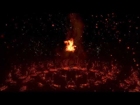 Tetris Effect - Ritual Passion: Flames - Theater Mode