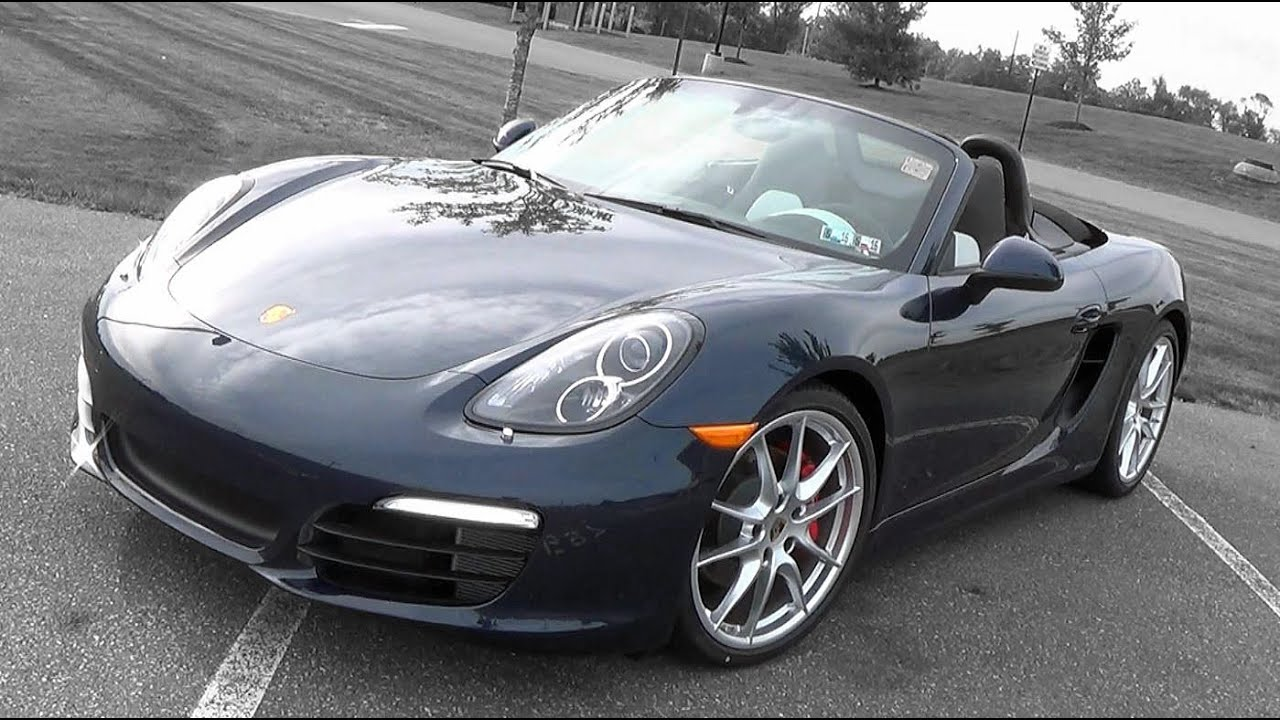 2015 2016 porsche boxster s review youtube. Black Bedroom Furniture Sets. Home Design Ideas