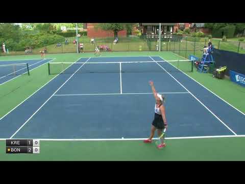 Krejsova Petra v Bonaventure Ysaline - 2017 ITF Woking