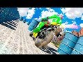 Mad City Rooftop: Tricky Bike Stunt Rider - Gameplay Android game - motorbike race games