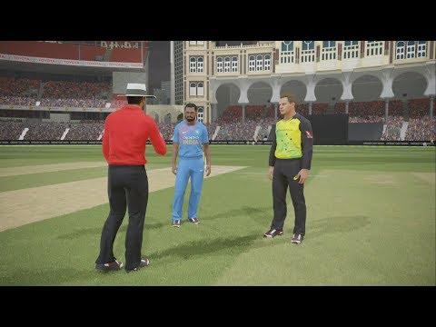 Ashes Cricket 2017(Hindi) | India vs Australia | Legend Mode |  Ps4 Gameplay