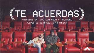 Te Acuerdas Video Premiere EN VIVO con @Sech y @Arcangel