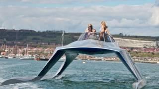 $800K UBER Luxurious Yacht-Catamaran Hybrid Boat (Glider SP18)