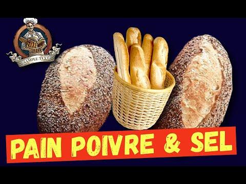 recette-baguette-et-petit-pain-poivre-et-sel-ou-graines-de-sésame