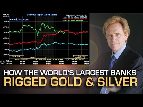 BUSTED: How The World's Largest Banks Manipulated Gold & Sil