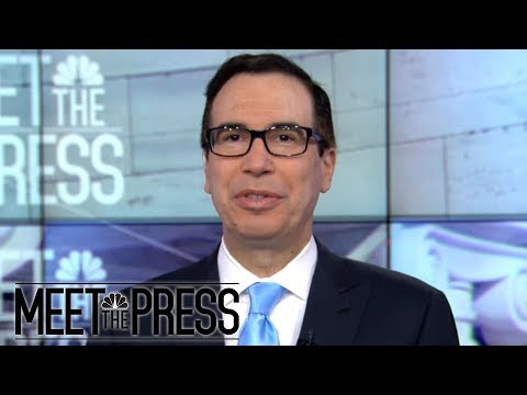 Steven Mnuchin: Trump's Attacks On The Press Are 'Campaign Rally Issues' | Meet The Press | NBC News
