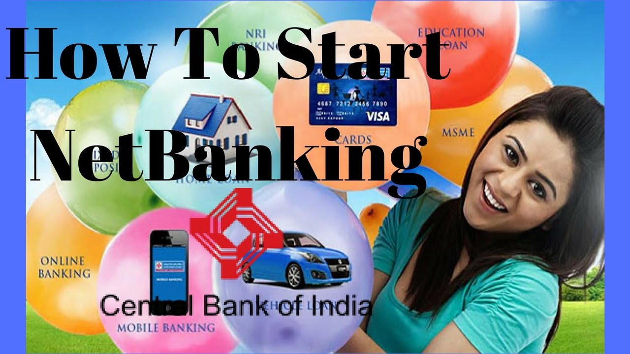 How To Start A Netbanking In CBI{Central Bank Of India