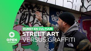Street art of graffiti: het oude Correct-pand in Noord onder de loep | Kunst en Cultuur