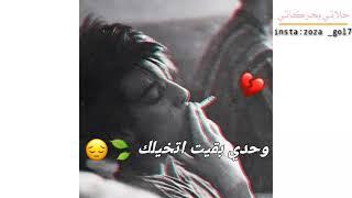 وحدي بقيت اتخيلك //مع كلمات