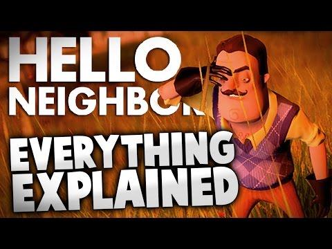 Hello Neighbor - EVERYTHING EXPLAINED (Hello Neighbor Alpha Gameplay Story Explained)de YouTube · Haute définition · Durée:  12 minutes 4 secondes · 327.000+ vues · Ajouté le 18.11.2016 · Ajouté par IGP