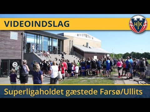 Superligaholdet gæstede Farsø/Ullits IK